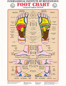 IIR Foot Chart